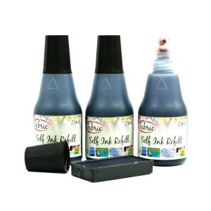 Ink Bottle Fabric Cap. 25ml