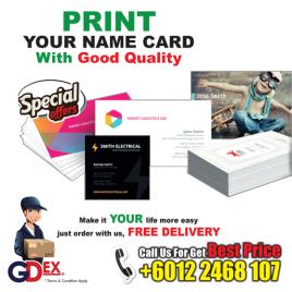 Name Card Offset Print
